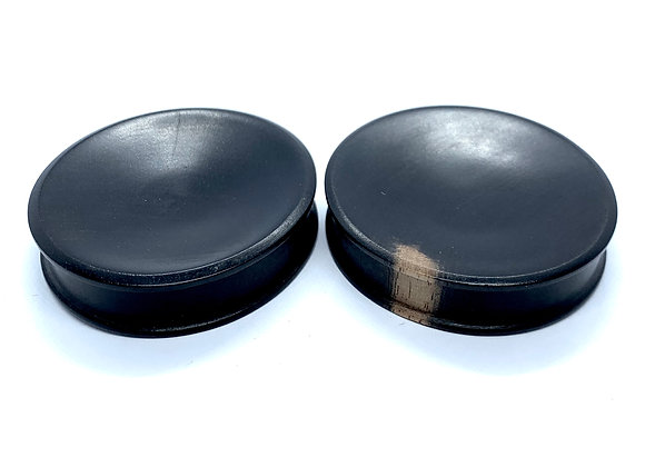 Areng Wood Plugs Concave DFlare