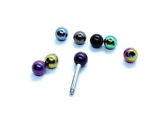 Ti 14g 4mm Multicolour