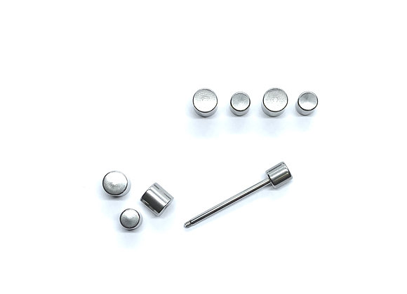 14g Flat Dumbell Small Large