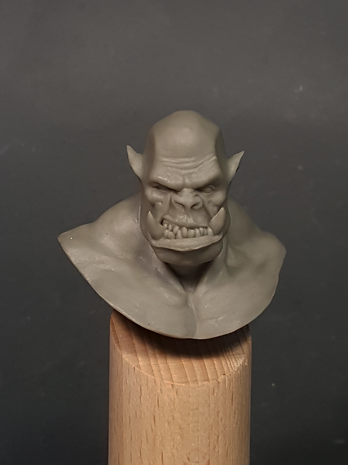 Academic Orc Bust