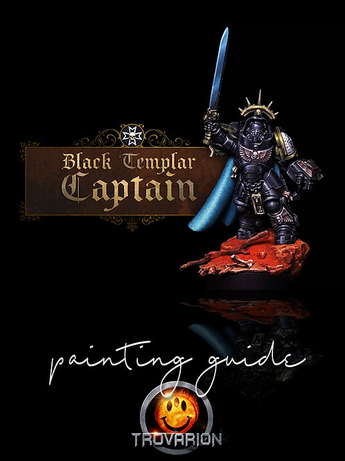 Black Templar Captain Painting Guide