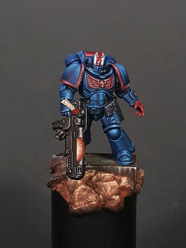 How to paint Space Marines