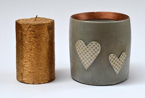 Concrete Candle Holder/Plant Pot