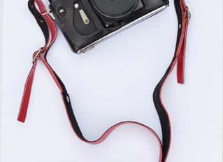 New hot pink camera strap!