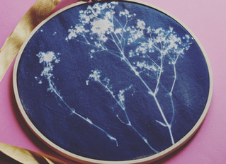 Cyanotype Fabric Printing