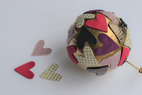 DIY Heart Bauble Kit