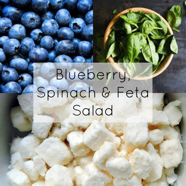 Blueberry, Spinach & Feta Spring Salad