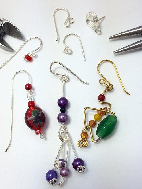 Wire Earring Findings - Beginners