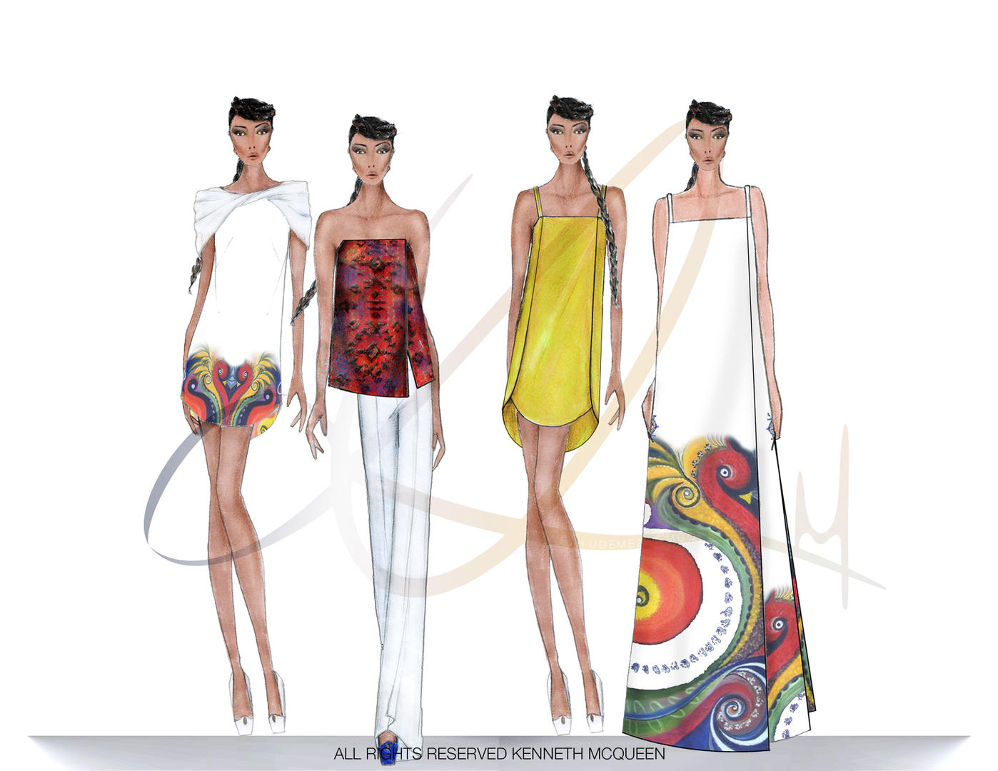 kenneth mcqueen fashion design