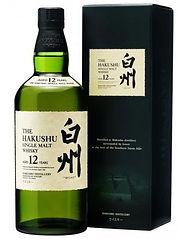 Whisky japonais The Hakushu 12 ans