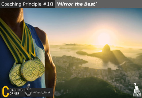 Coaching Principle: 'Mirror the Best'