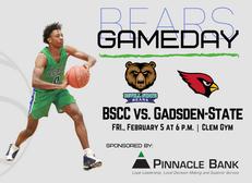 Bevill State Basketball vs Gadsden State - February 5