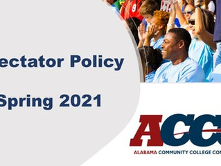 ACCC releases Spring 2021 Spectator Policy