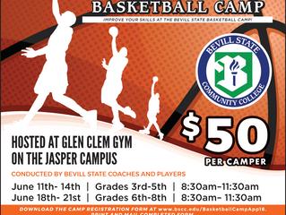 Bevill State Basketball Camp!