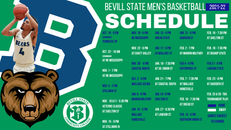 2021 - 2022 BSCC Basketball Schedule