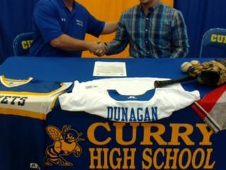Bevill State Baseball Signs Caleb Dunnigan