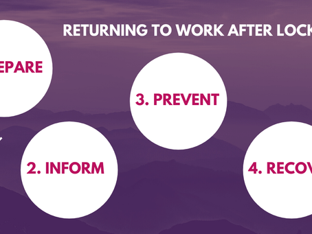 Tips to Get Back to Work After COVID-19 Lockdown