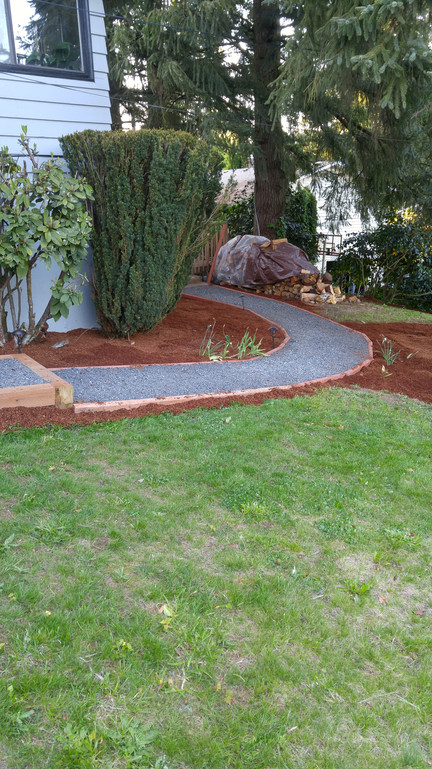 Gravel Installation for Walkpathway