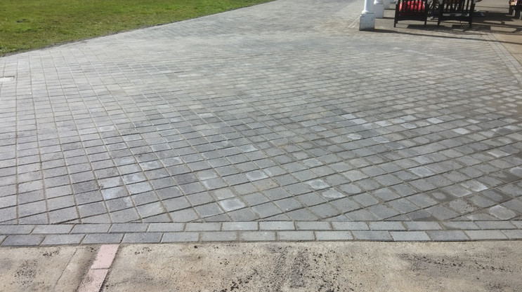 Pavers Completed