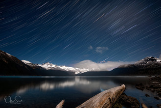 StarTrails - Garibaldi Lake