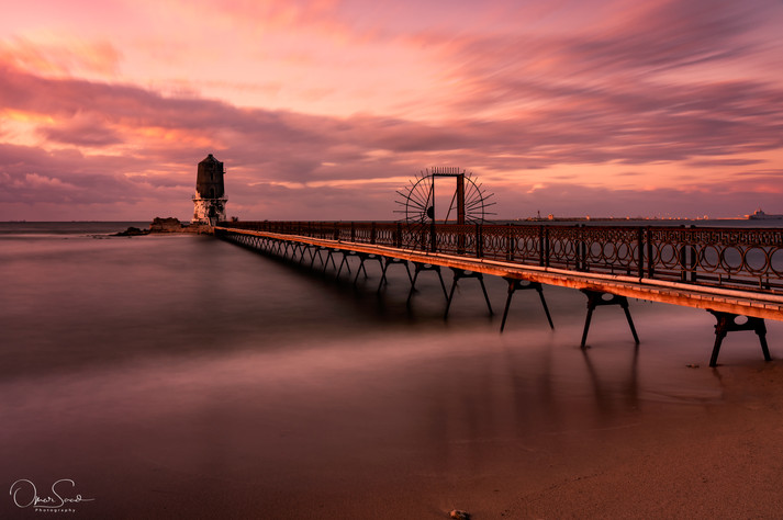 Sunset - Al Max old light house