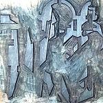 Altarpiece woodcut
