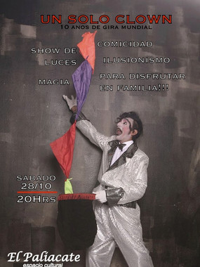 Excentrico Barrilete Un Solo Clown
