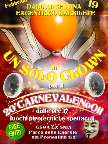 Excentrico Barrilete Clown Mago Escapologo.j