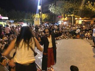 Barrilete Violetta Street Show in Spain