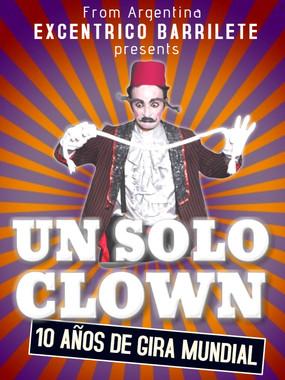 Excentrico Barrilete Un Solo Clown Company