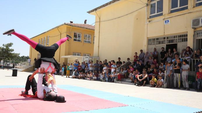 Barrilete Violetta Street Show in Turkey