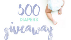 We are Giving Away 500 Diapers!!