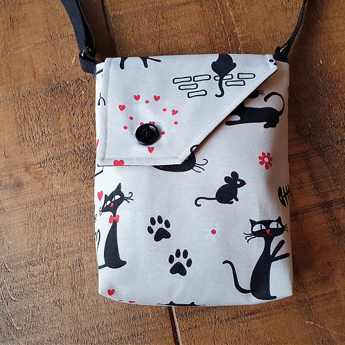 Cat and Mouse cross body bag