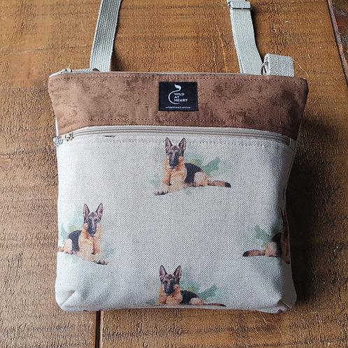 German Shepherd dog bag