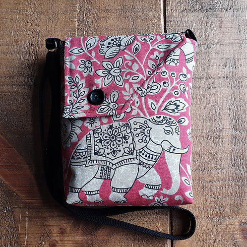 Elephant Bag - available in red, blue and grey