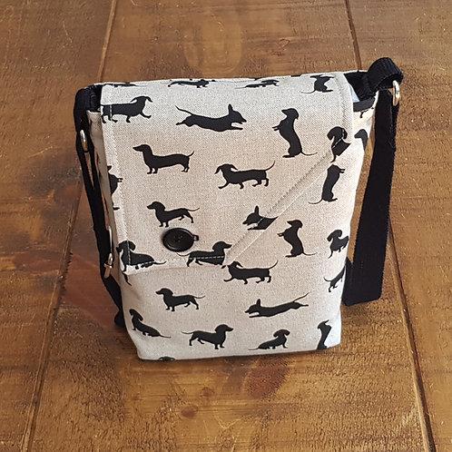 Dachshund / Sausage Dog Cross Body Bag