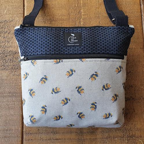 bumble bee cross body bag