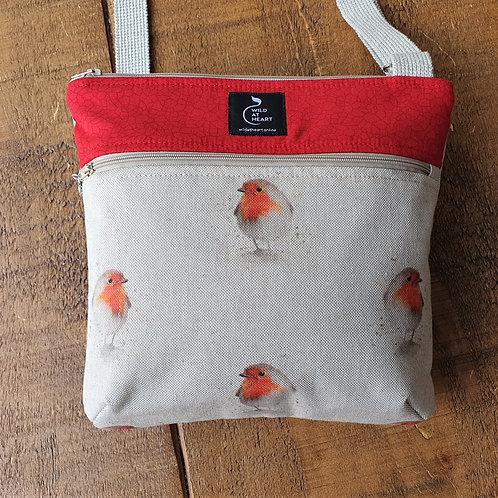 Robin bird cross body bag