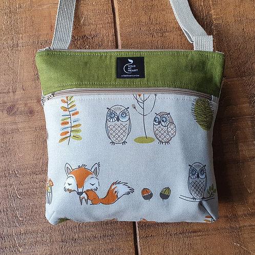Woodland Animals - Zipper Bag