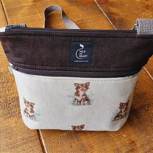 Brown Chihuahua bag