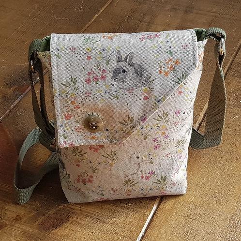 Rabbit & Flora Cross Body Bag