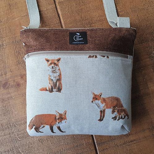 Realistic Fox - Zipper Bag