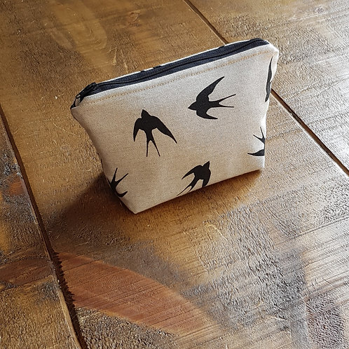 Swallow - Cosmetics bag