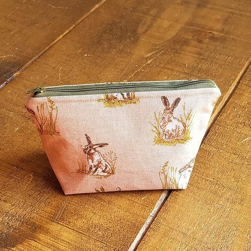 Hare cosmetics bag