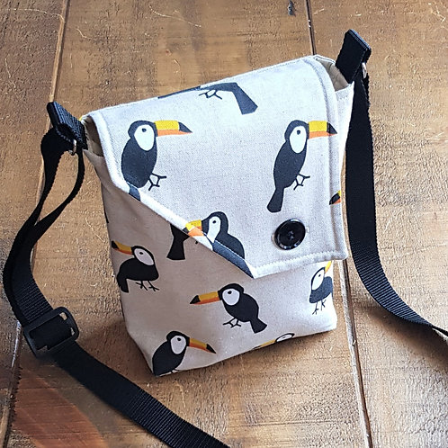 Toucan Cross Body Bag