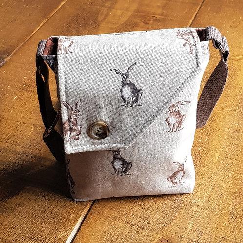 Hare cross body bag