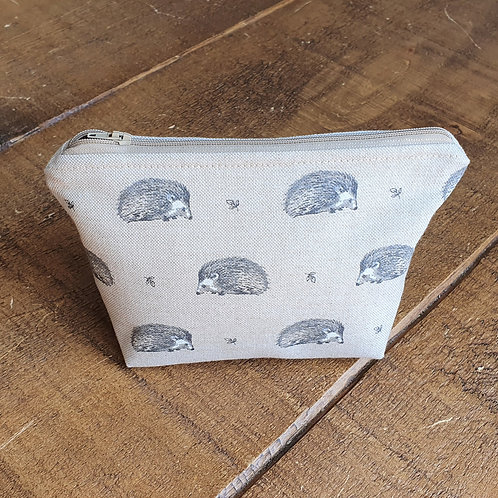 Hedgehog cosmetics bag