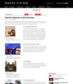 Top Galleries in San Francisco