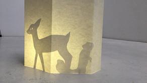 Teatro de sombras portátil