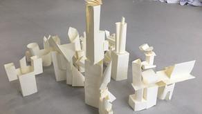 A cidade futurista / La ciudad futurista
